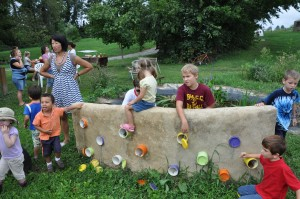 Children's Garden. Photo courtesy of Melinda Schlitt.
