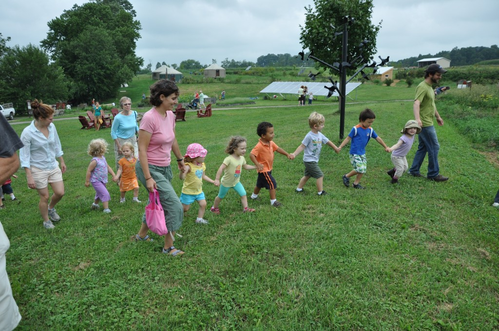 Kids at the Dickinson Farm, Children's Day 2011. Photo courtesy of Melinda Schlitt
