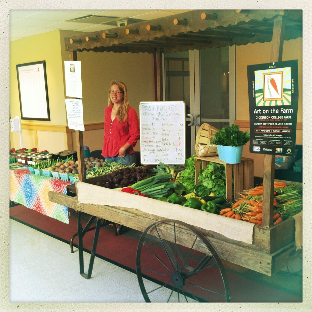 Megan Moody - Dickinson College Farm HUB Farm Stand