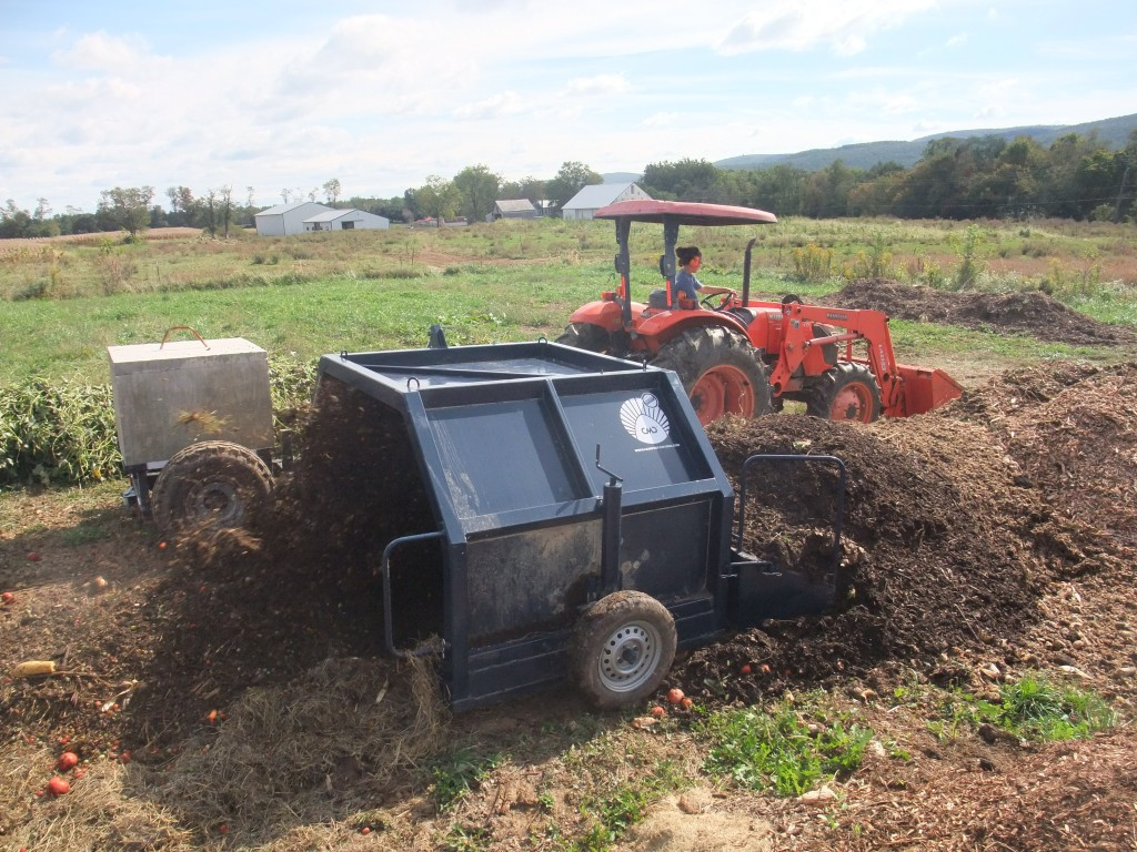 Our Autrusa Compost Turner. http://autrusa.com/products/compost