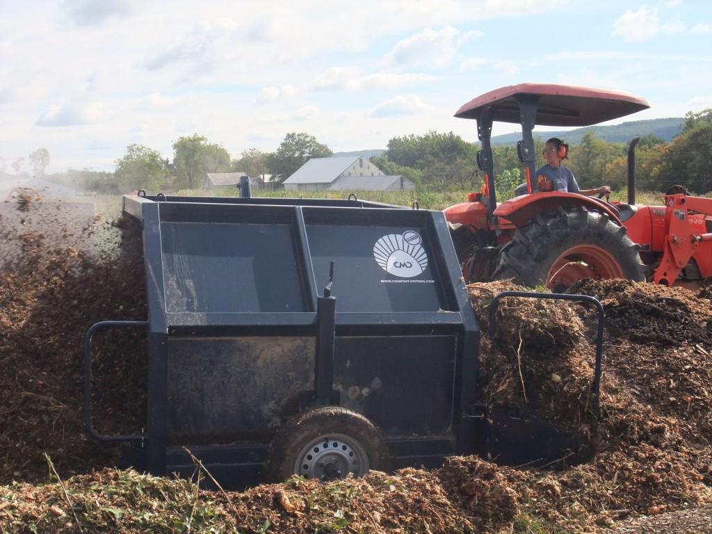 compost turner 2012