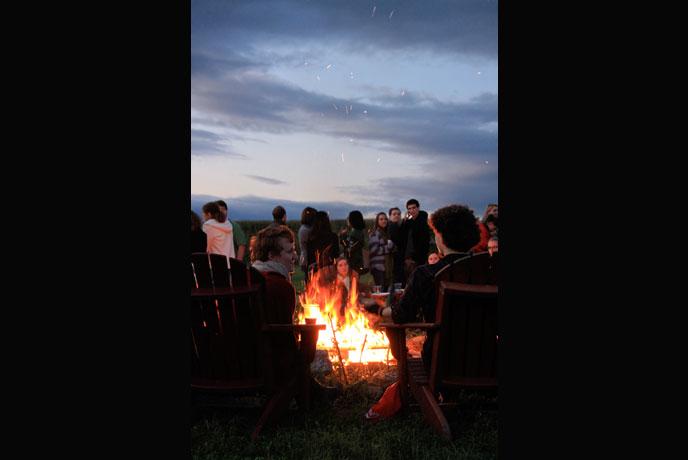 2011 Harvest Fest Bonfire