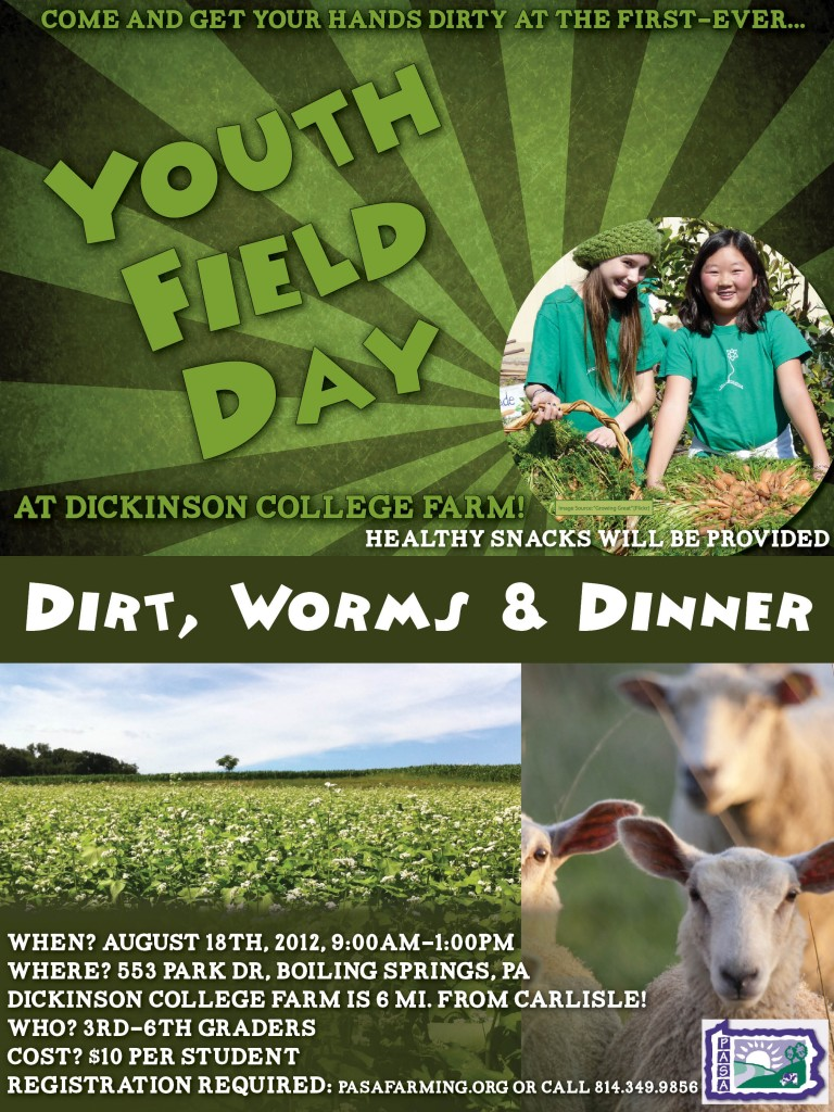 PASA-DC Farm Youth Field Day 8.18.2012