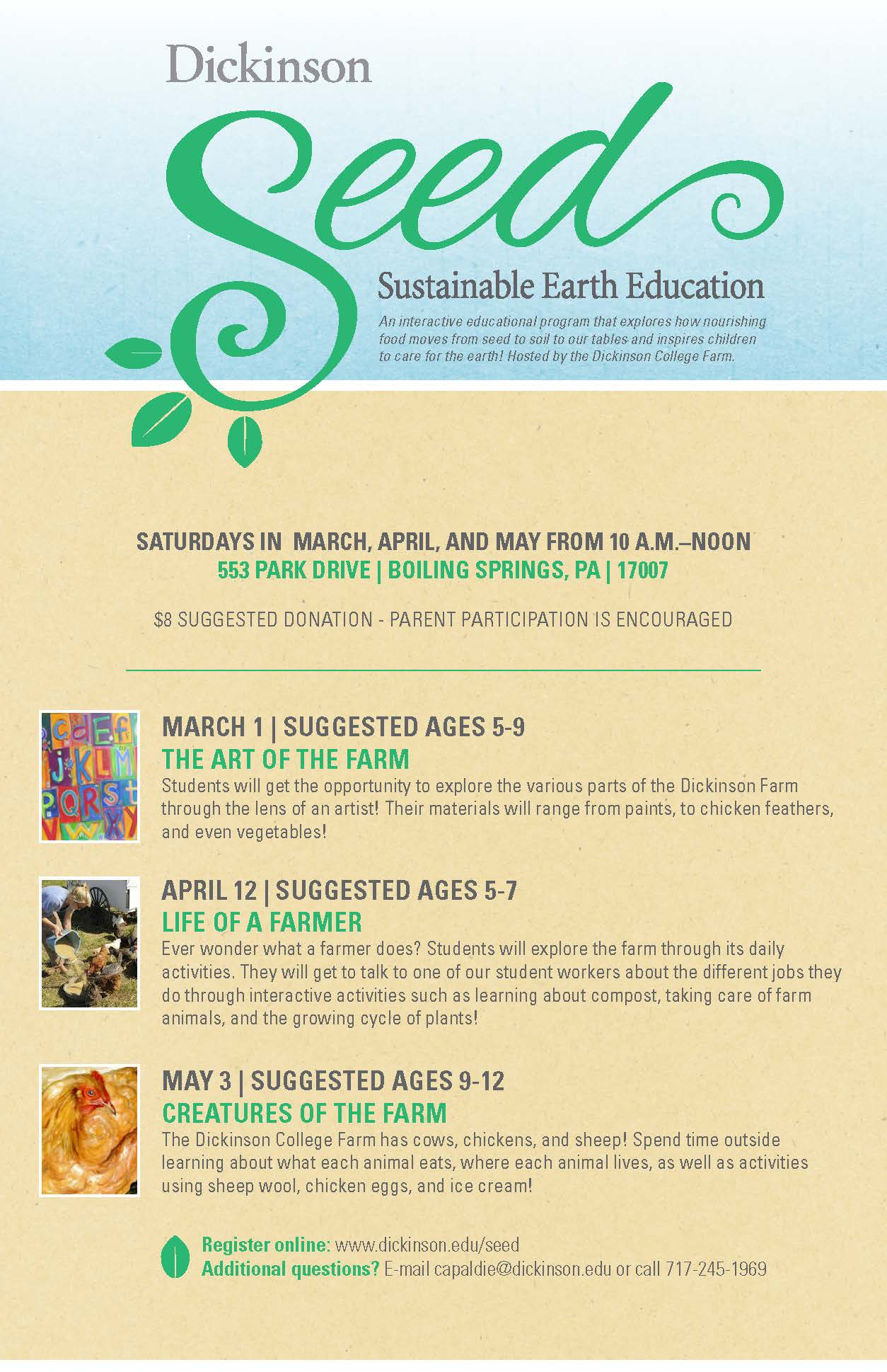 SEED Spring 2014 Poster