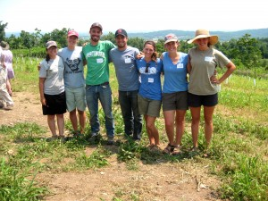 Student Farmers and Apprentices, Dickinson College Farm, Summer 2012
