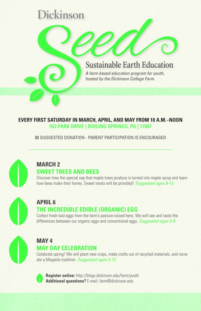 SEED 2013 Sustainable Earth Education