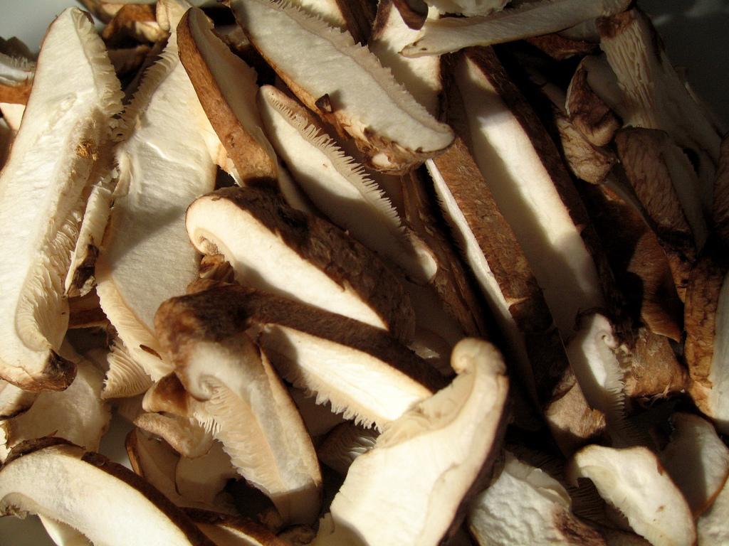 shiitake mushrooms - flickr - trasel