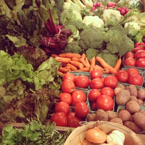 veggies - HUB farm stand