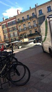 Une place à Toulouse