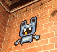 grafitti video pixels