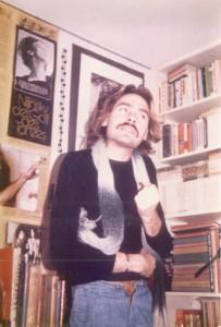 Gerald in der Heidelberger Studentenbude des Autors