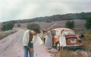 Gerald mit Lynne und Lisa