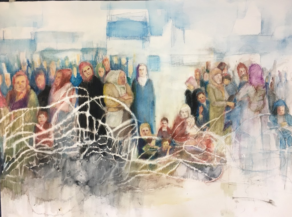 "Jeanne Goodman, ""Refugees"" (2016)"