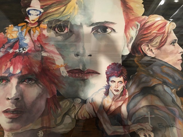 Collage of Bowie 2018