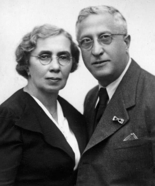 Burian's Parents Emil and Anna Kathinka