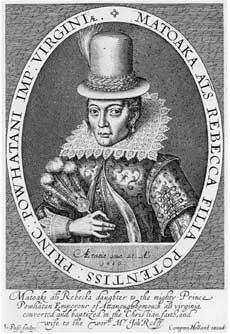Pocahontas 1616