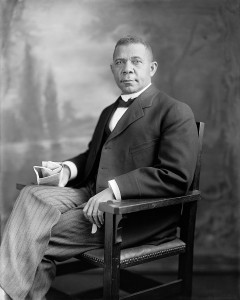 Image of Booker T. Washington between 1905 and 1915 courtesy of the Library of Congress
