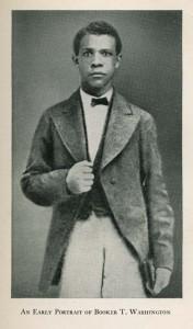 Booker T. Washington, circa 1870s