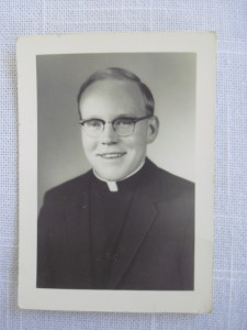 Photograph from 1969, one year after Father Joe was ordained a deacon.