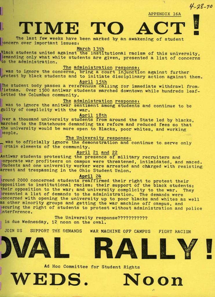 1970_OSU_Demonstrations_Flyers_Ad Hoc Com2