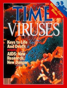 Time magazine cover on AIDS (1986)