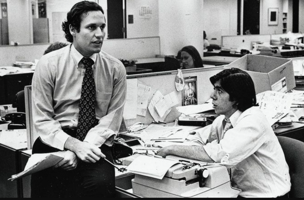 Woodward and Bernstein