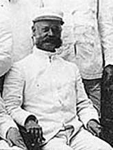 Benjamin Lamberton, U.S. Navy. Image courtesy of United States Lighthouse Society.