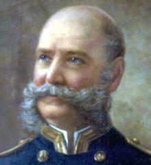 Painting of Benjamin Lamberton. Courtesy of the Dickinson College Archives.