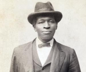 Photograph of Henry Spradley.