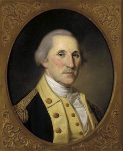 Washington by Peale