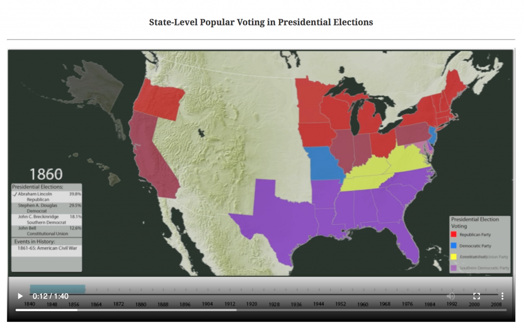 Presidential maps