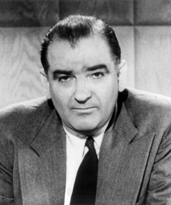 Sen. Joseph McCarthy (Image Courtesy of Wikipedia)