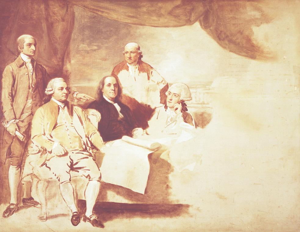 Treaty Of Paris 1783 History 282 Us Diplomatic History