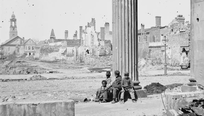 1865-04 black children charleston