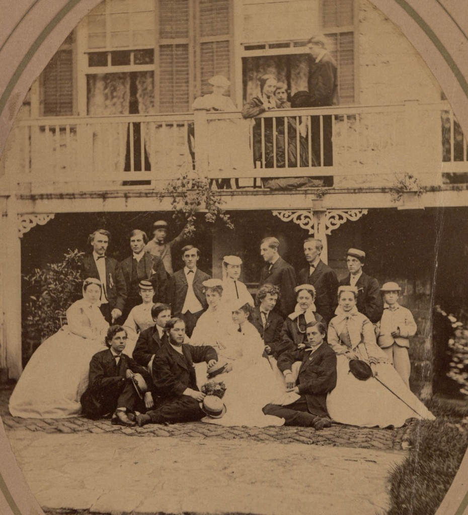 Mary Dillon at East College, c 1860s