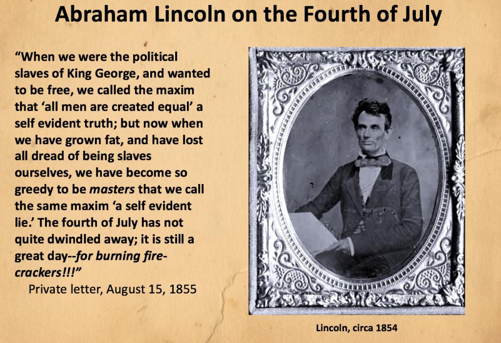 Lincoln 1855
