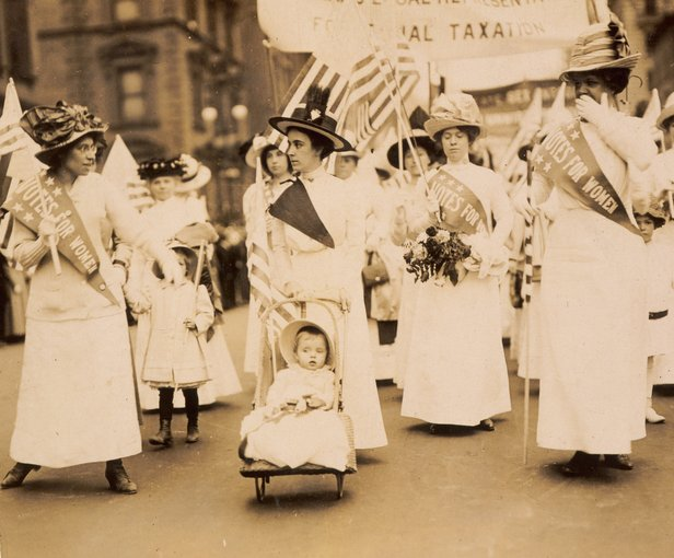 Suffrage parade (1912)