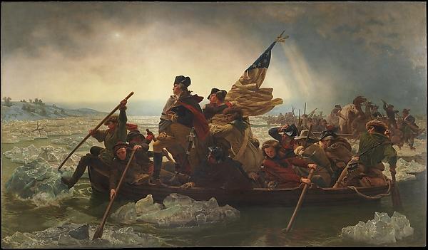 Washington Crossing (1851)
