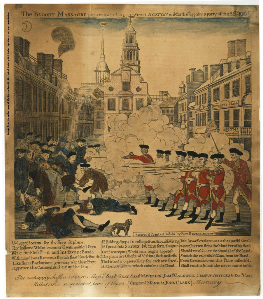 Boston Massacre (1770)