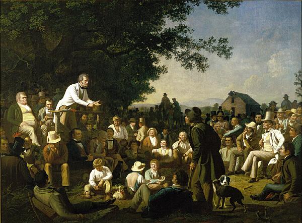 Stump Speaking (1854)