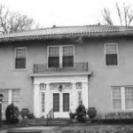 419 N.Esplanade St. house: Anthony's home in Leavenworth for much of his later life, from the early 1870s until his death. He lived there with his wife Anna Osborne. (Image courtesy, Leavenworth Historical Society)