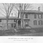 Battenville House: In 1827 Daniel Anthony Sr. got a new job as manager of several mills in New York and the Anthony's moved to this house in Battenville. (Image courtesy, New York Park Service)