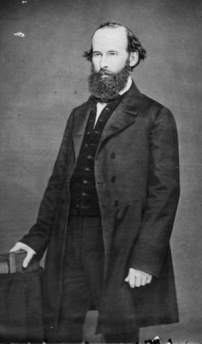 Eli Thayer: Leader of the New England Emigrant Aid Company, he was responsible for D.R. Anthony and other Free-Staters getting their start in Kansas. (Image courtesy, Wikimedia Commons)