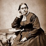 Susan B. Anthony: Daniel Read Anthony's older sister, and famous as one of the leaders of the women's suffrage movement. The two corresponded with and visited one another frequently. (Image courtesy of Wikimedia Commons)