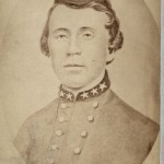 William Clark Quantrill: Led a band of Missouri-based guerilla fightersWhen D.R. Anthony laid waste to much of Missouri, it was partly in retaliation for raids by Quantrill. (Image courtesy of Kansas Memory)