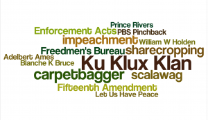Reconstruction Word Cloud