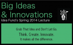 big ideas innovations banner