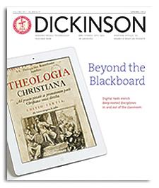 dickinson magazine article