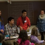 Jeopardy Certamen with the 3-5th grade groups 2/17/14