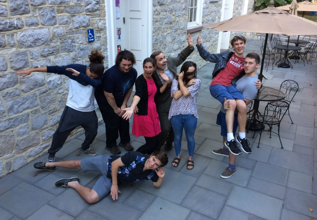 Photo of Latin club magistri in silly poses